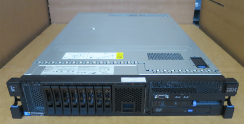 IBM X3650 M2 2U Server 2 x QUAD-CORE E5540 16GB RAM RAID 2 x PSU